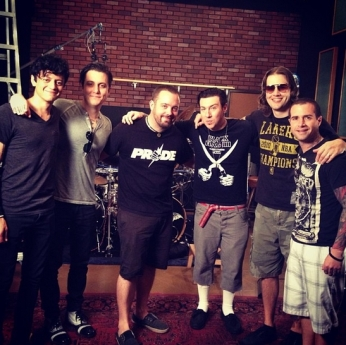 Good times, good family. Here we go again :) #A7X #itbegins